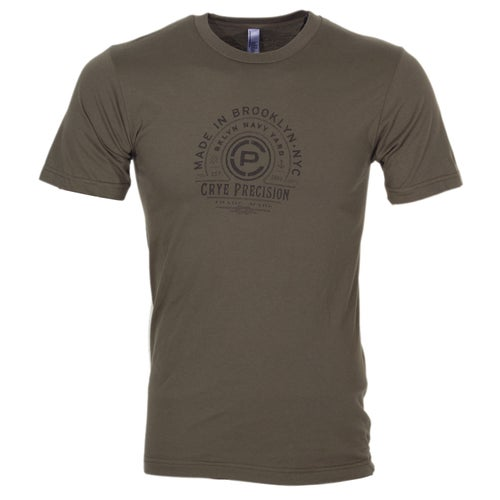 Crye Precision Made In Brooklyn Short Sleeve T-Shirt - Army