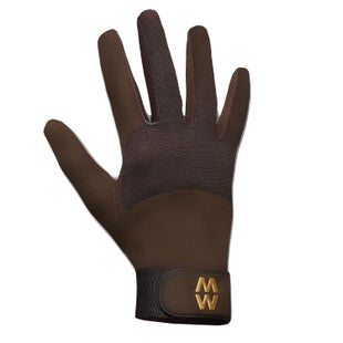 MacWet Climatec Long Cuff Gloves - Brown