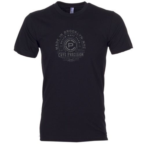 Crye Precision Made In Brooklyn Short Sleeve T-Shirt - Black