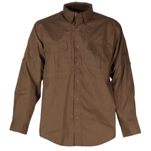 5.11 Tactical Taclite Pro Long Sleeve Shirt - Battle Brown