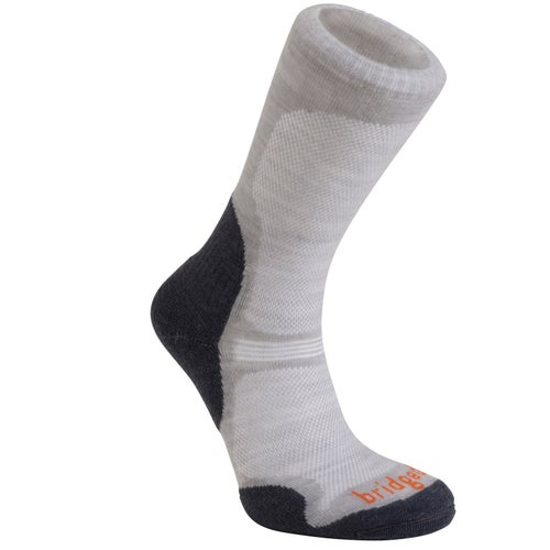 Bridgedale Wool fusion Trail Ultra Light Outdoor Socks - Gunmetal
