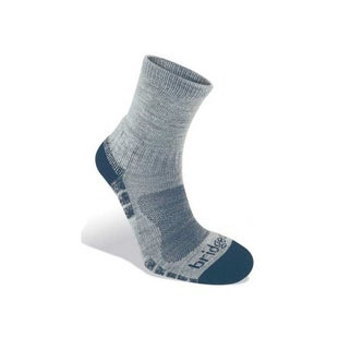 Bridgedale Woolfusion Trail Light Outdoor Socks - Silver Navy