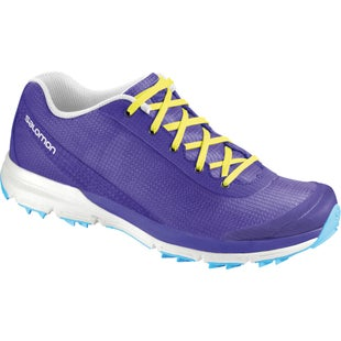Salomon Sense Colors Womens Shoes - Spectrum Blue Fluo Yellow
