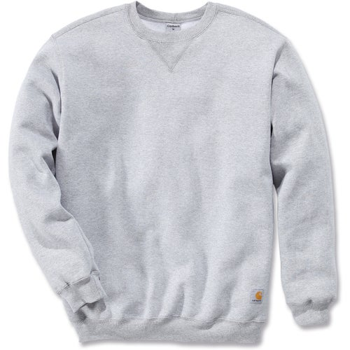 Carhartt Midweight Crewneck Sweater - Heather Grey
