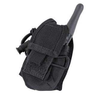 Condor Outdoor HHR Radio Pouch - Black