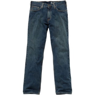 Carhartt Relaxed Straight Jean Workwear Pant - Weathered Blue