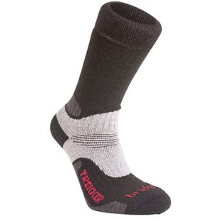 Bridgedale Woolfusion Trekker Outdoor Socks - Black