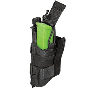5.11 Tactical Double Pistol Bungee-Cover Pouch - Black
