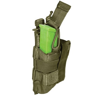 5.11 Tactical Double Pistol Bungee-Cover Pouch - Tac OD