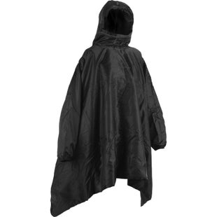 Snugpak Insulated Poncho Liner Jacket - Black