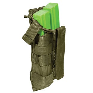 5.11 Tactical Double MP5 Mag Bungee-Cover Mag Pouch - Tac OD
