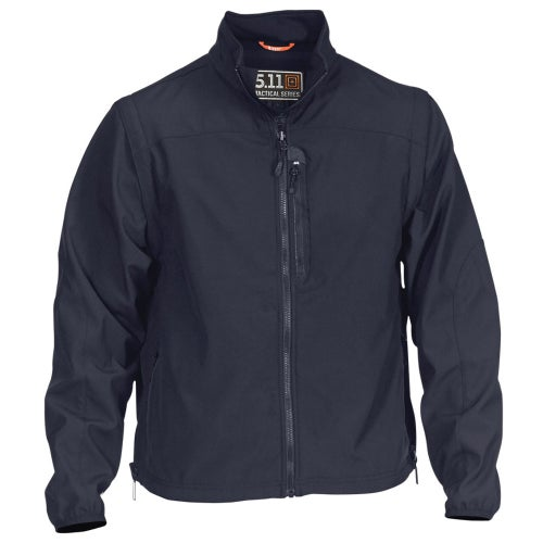 5.11 Tactical Valiant Soft Shell Jacket - Dark Navy
