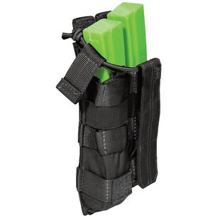 5.11 Tactical Double MP5 Mag Bungee-Cover Mag Pouch - Black