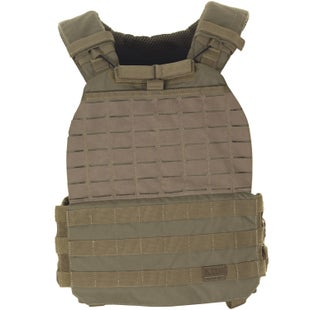 5.11 Tactical TacTec Plate Carrier Vest - Sandstone