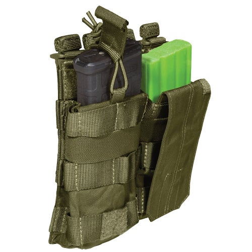 5.11 Tactical Double AR Mag Bungee-Cover Mag Pouch - Tac OD