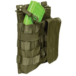 5.11 Tactical Double AK Mag Bungee-Cover Mag Pouch - Tac OD