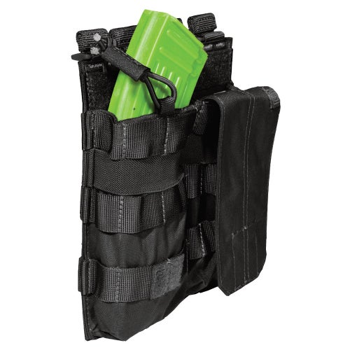 5.11 Tactical Double AK Mag Bungee-Cover Mag Pouch - Black