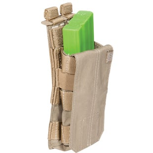 5.11 Tactical Single AR Mag Bungee-Cover Mag Pouch - Sandstone