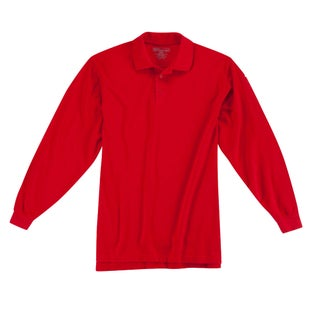 5.11 Tactical Professional LS Polo Shirt - Range Red