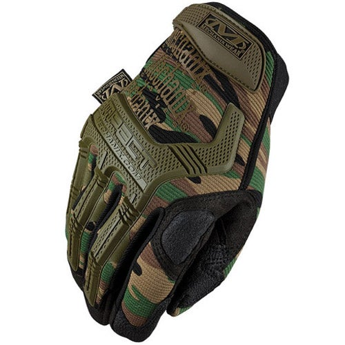 Mechanix M-Pact Gloves - Woodland Camo