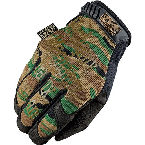 Mechanix Original Covert Gloves - Woodland Camo
