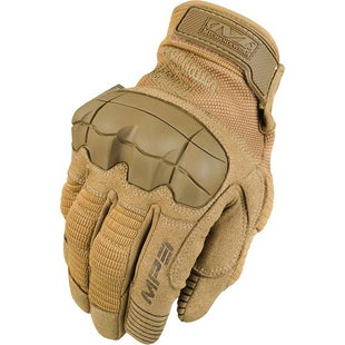 Mechanix M-Pact 3 Hard Knuckle Gloves - Coyote Tan