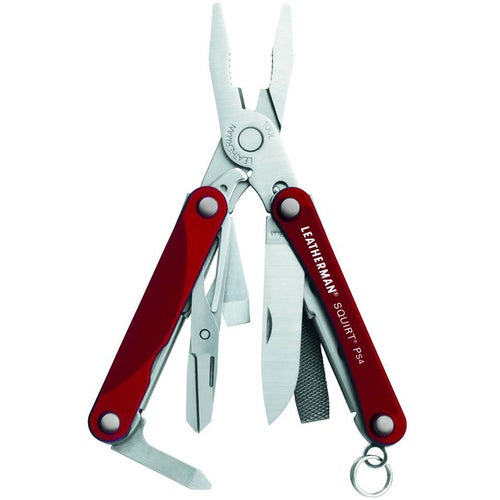 Leatherman Squirt PS4 Multitool - Red