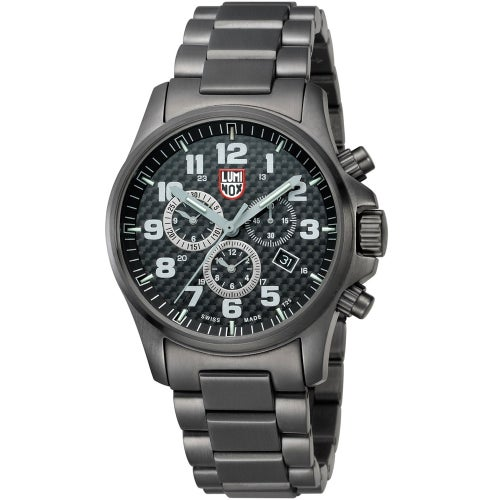 Luminox Atacama Field Chronograph Alarm 1942 Watch - Black Dial