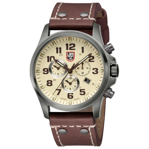 Luminox Atacama Field Chronograph Alarm 1947 Watch - Ivory Dial