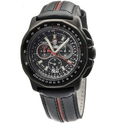Luminox F-22 Raptor 9278 Watch - Black Dial