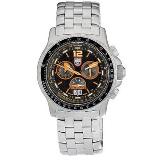 Luminox F-35 Lightning II 9382 Watch - Black Orange