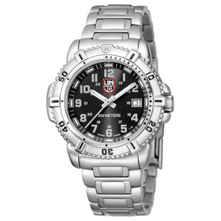 Luminox Steel Colourmark 7252 Watch - Black Dial