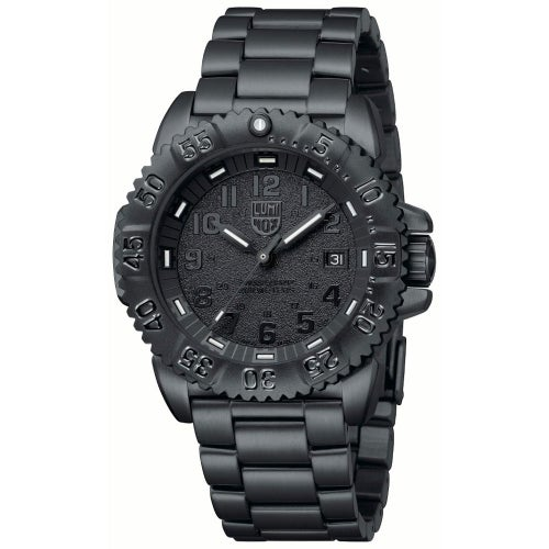 Luminox Navy Seal Steel Colourmark 3152BO Watch - Black Black Dial