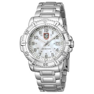 Luminox Steel Colourmark 7258 Watch - Mother of Pearl Dial