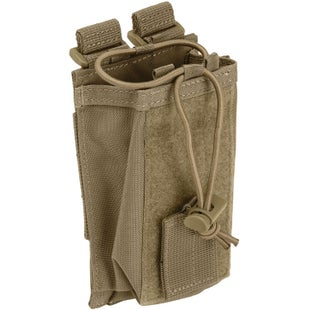 5.11 Tactical Bungee Radio Pouch - Sandstone