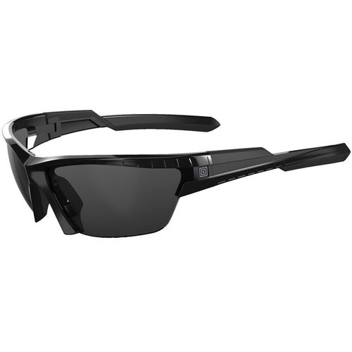5.11 Tactical CAVU Half Frame Sunglasses - Gloss Black Frame ~ Three Lenses