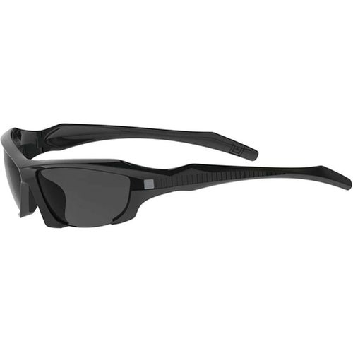 5.11 Tactical Burner Half Frame Sunglasses - Gloss Black Frame ~ Three Lenses