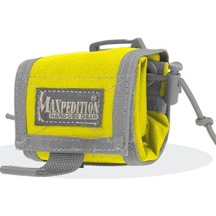 Maxpedition Rollypoly Folding Dump Pouch - Safety Yellow