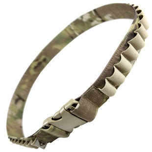 Condor Outdoor Shotgun Bandoleer Belt - Crye Multicam