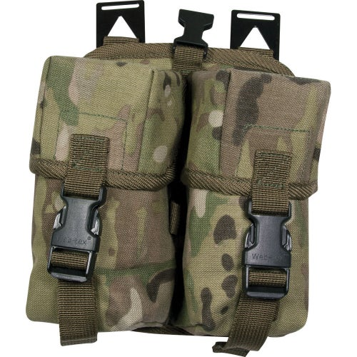 Web-Tex Double Ammo Mag Pouch - Crye Multicam