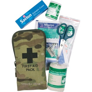 Web-Tex Small First Aid Kit - Crye Multicam