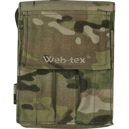 Web-Tex A6 Notebook Holder Organiser Pouch - Crye Multicam