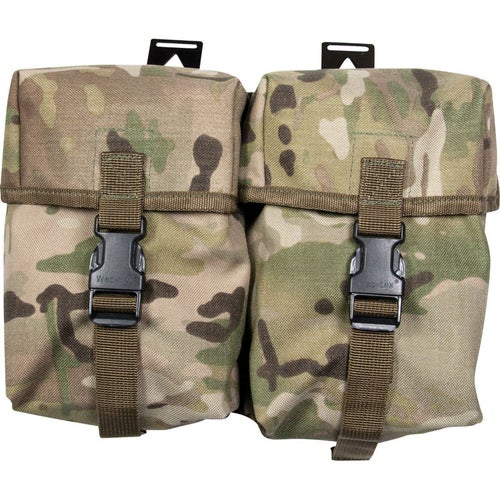 Web-Tex Double Utility Pouch - Crye Multicam
