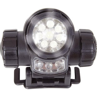 Web-Tex LED Head Torch - Black