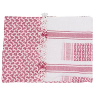 Web-Tex Shemagh Scarf - Red White
