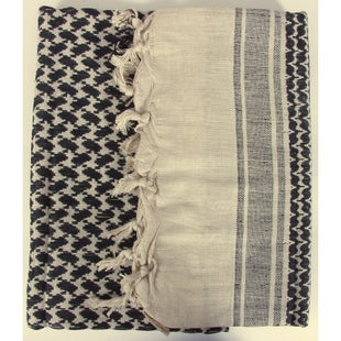 Web-Tex Shemagh Scarf - Sand Black