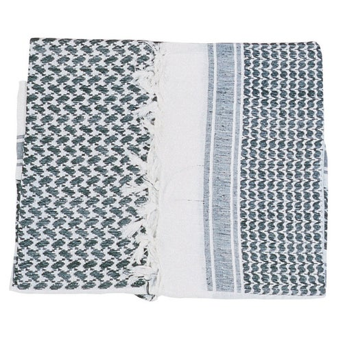Web-Tex Shemagh Scarf - Black White