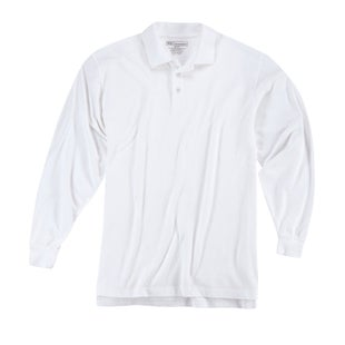 5.11 Tactical Professional LS Polo Shirt - White