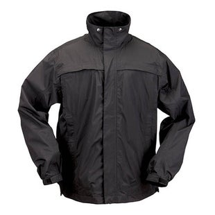 5.11 Tactical TAC Dry Rain Shell Jacket - Black