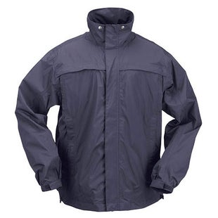 5.11 Tactical TAC Dry Rain Shell Jacket - Dark Navy